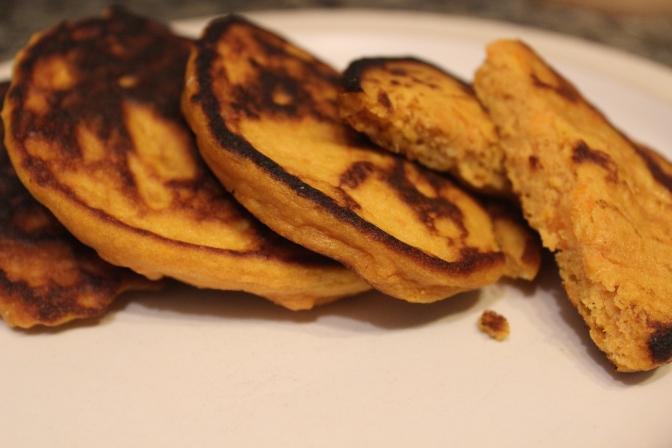 Yam Pancakes – gluten-free