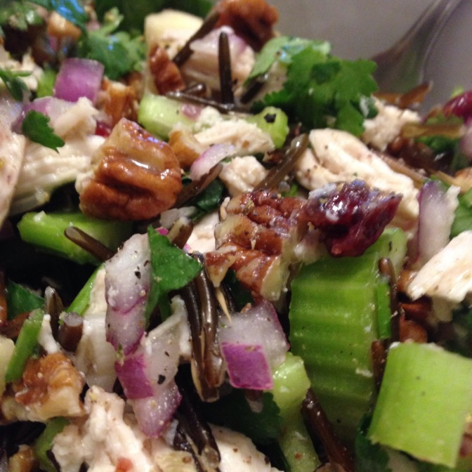 Chicken & Wild Rice Salad